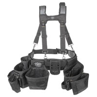 Dead-On HDP369857 Heavy Duty Framer Suspension Rig, 7 Outer Pockets and 33 Inner Pockets Pocket, Fabric, Black