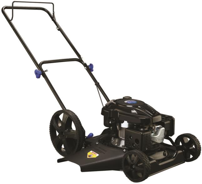 Pulsar ATG1320 Lawn Mower, 21 in W x 1-1/4 to 3-3/4 in H Cutting, 159 cc Loncin EPA3 Engine Gas