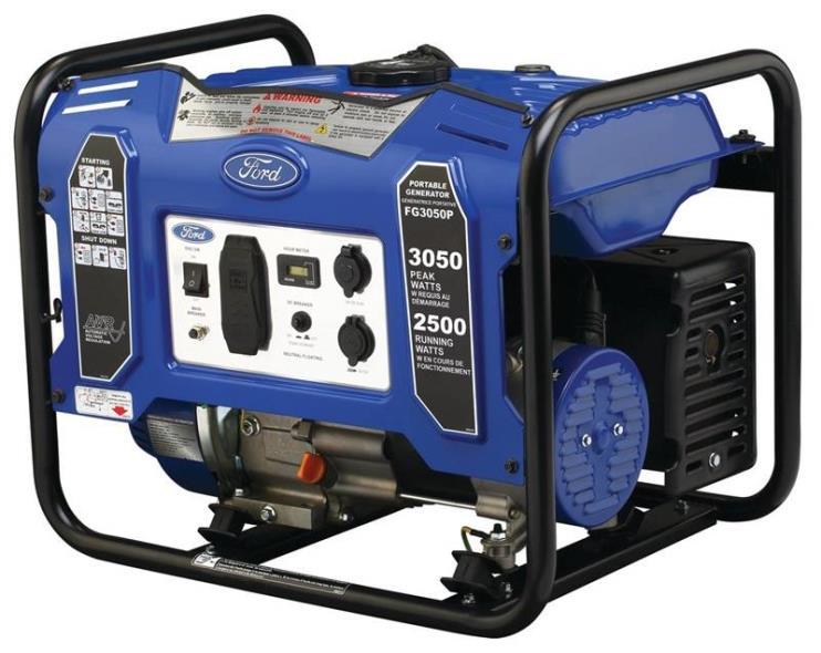 GENERATOR GAS 3050W-PEAK 2500W