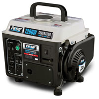 Pulsar PG1202S Portable Generator, 120 V, 8.3 A, 900/1200 W, 2-Stroke Air-Cooled, 1-Cylinder