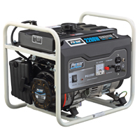 Pulsar PG2200 Portable Generator, 120 V, 8.3 A, 1400/2200 W, 4-Stroke OHV Air-Cooled, 1-Cylinder