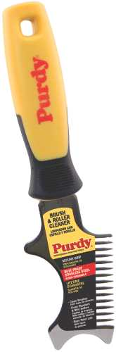 PURDY� CONTRACTOR STAINLESS STEEL BRUSH AND ROLLER CLEANING TOOL