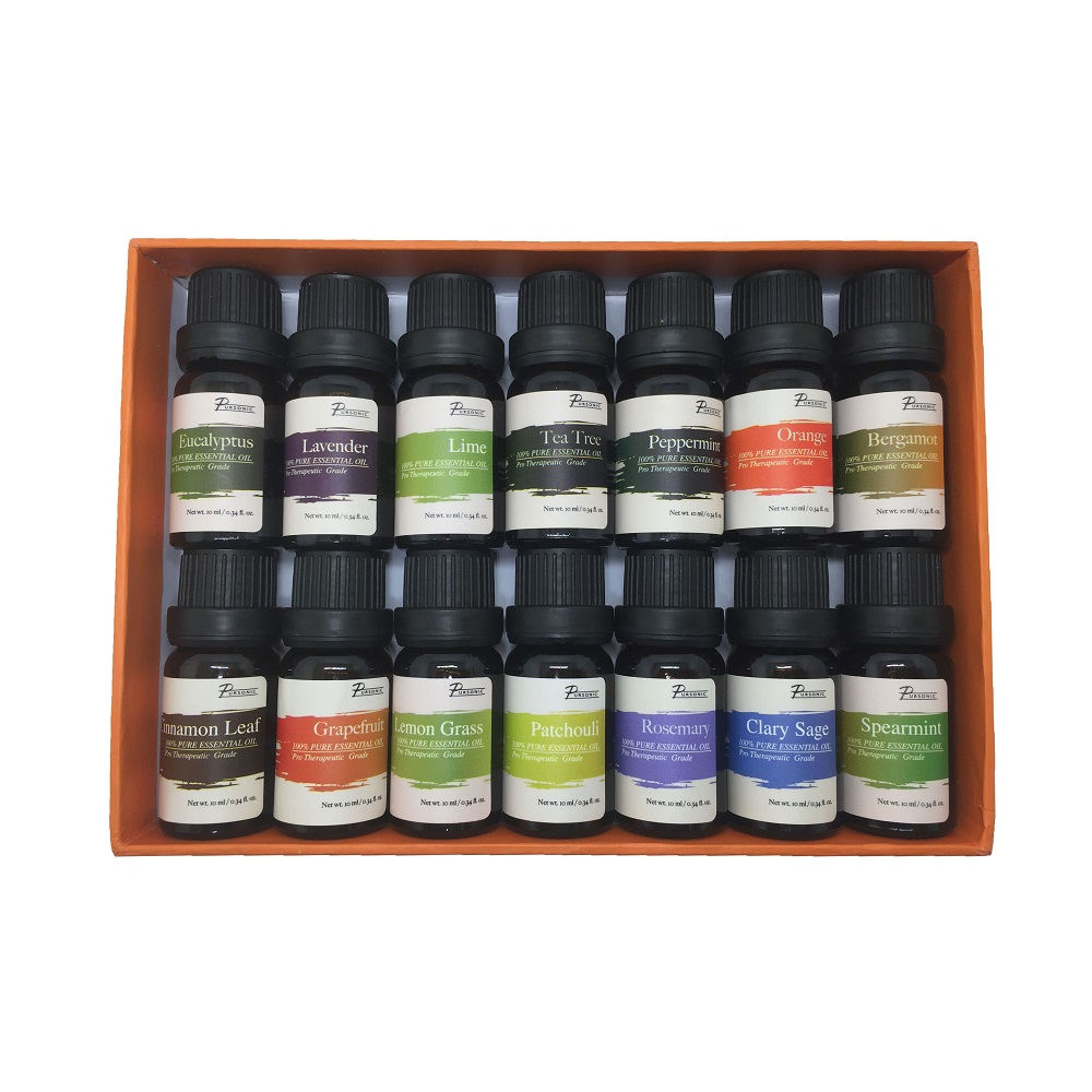 PURSONIC AO14 PURE ESSENTIALS AROMA OILS 14 PACK