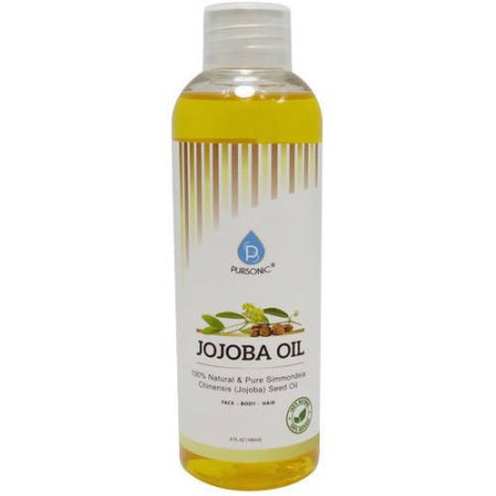 PURSONIC JJO6 JOJOBA OIL 6oz USE AS A MOISTURIZER FOR DRY OR