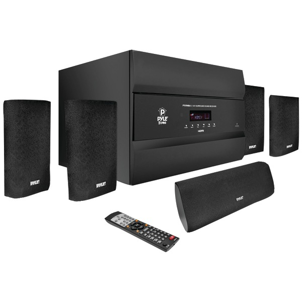 PYLE PRO PT678HBA 5.1-Channel, 400-Watt HDMI Home Theater System with Bluetooth