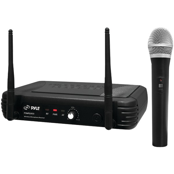PYLE PRO PDWM1800 Premier Series Professional UHF Wireless Handheld Microphone System