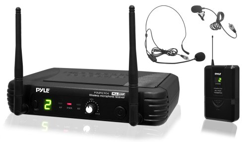 PYLE PRO PDWM1904 Premier Series Professional UHF Wireless Body-Pack Transmitter Microphone System