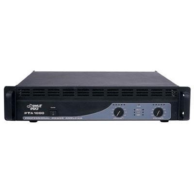 PYLE PRO PTA1000 PROFESSIONAL POWER AMP (1,000 WATT)