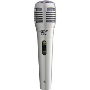 PYLE PRO PDMIK1 Professional Moving-Coil Dynamic Handheld Microphone