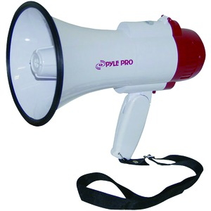 PYLE PRO PMP35R 30-Watt Professional Megaphone/Bullhorn