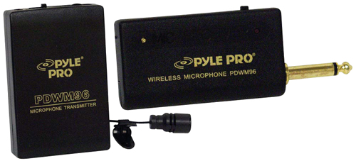 PYLE PRO PDWM96 LAVALIER WIRELESS MICROPHONE SYSTEM