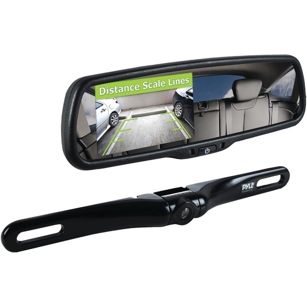 Pyle PLCM4550 Rearview Backup Parking Assist Camera & Display Monitor System