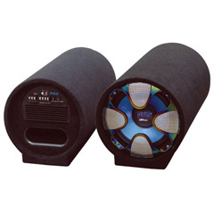 "PYLE PLTAB12 Blue Wave Series Amplified Subwoofer Tube System (12"", 800 Watts)"