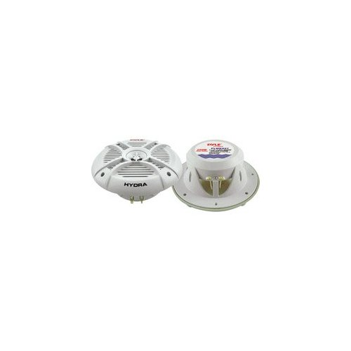 "PYLE PLMRX67 Hydra Series Aqua Pro 6.5"" 250-Watt 2-Way Marine Speakers"
