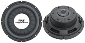 "PYLE PLWCH12D Chopper Series Shallow-Mount Subwoofer (12"", 1,200 Watts)"