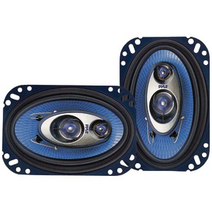 "PYLE PL463BL Blue Label Speakers (4"" x 6"", 3 Way)"
