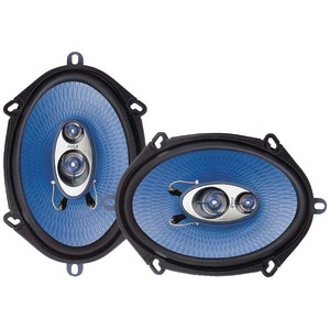 "PYLE PL573BL Blue Label Speakers (5"" x 7"", 3 Way)"