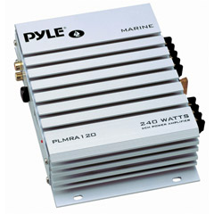 PYLE PLMRA120 Hydra Series Waterproof Marine Class AB Amp (240 Watts, 2-Channels)