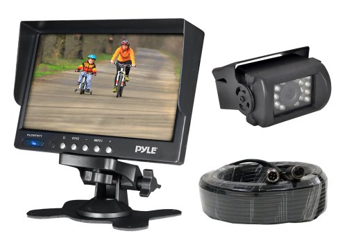PYLE PLCMTR71 WEATHERPROOF REARVIEW BACKUP CAMERA SYSTEM