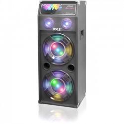 PYLE PSUFM1040P 1000 WATT DISCO JAM PASSIVE DUAL 10 INCH DJ