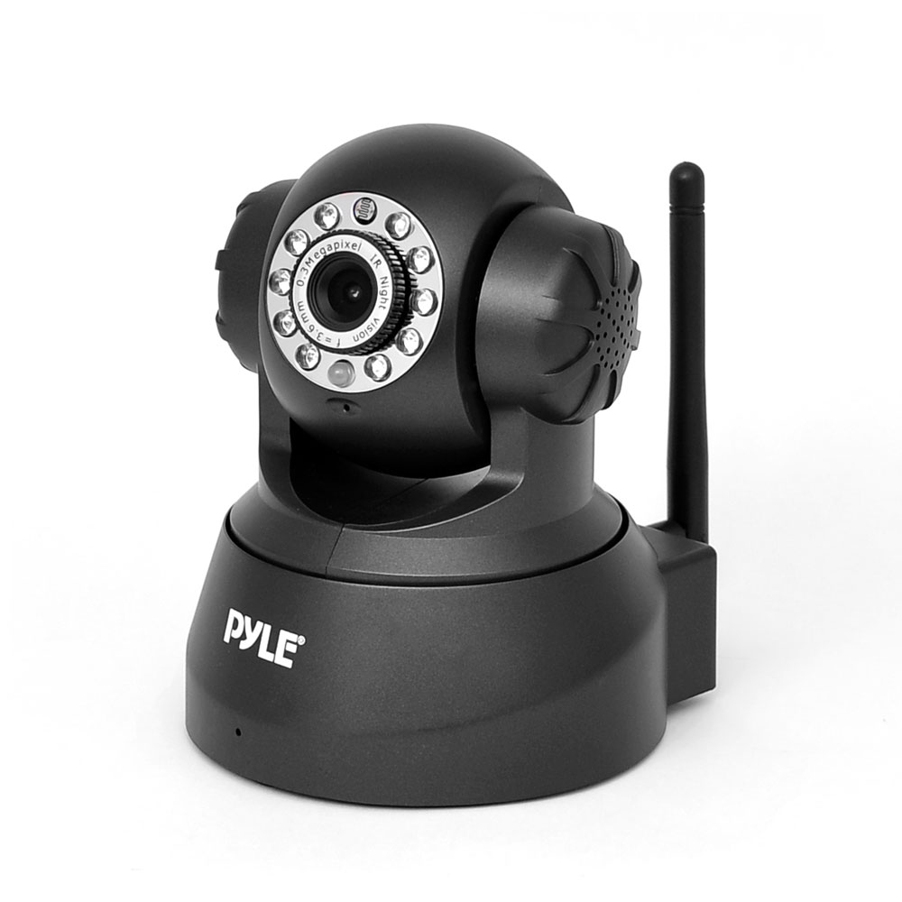 PYLE PIPCAM5 IP CAMERA SURVEILANCE SECURITY MONITOR WITH