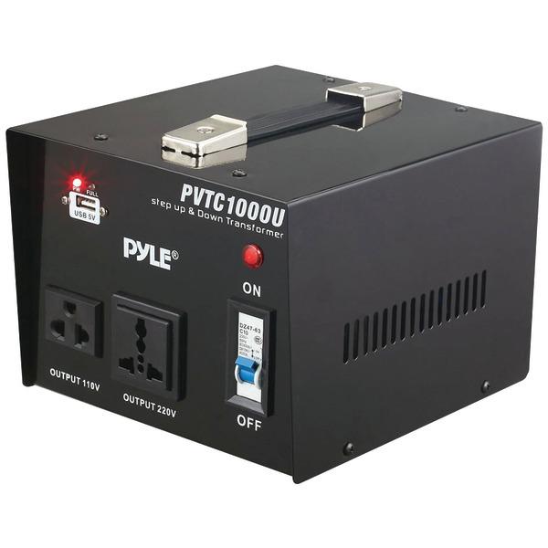PYLE PVTC1000U TRANSFORMER STEP UP AND STEP DOWN 1000 WATT