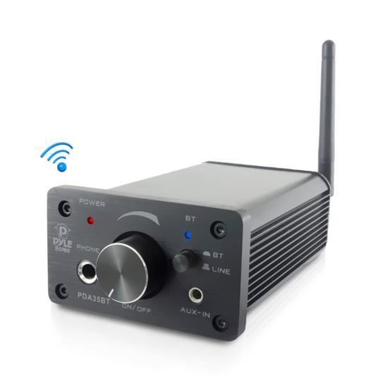 PYLE PDA35BT COMPACT BLUETOOTH AMPLIFIER MINI HEADPHONE AMP