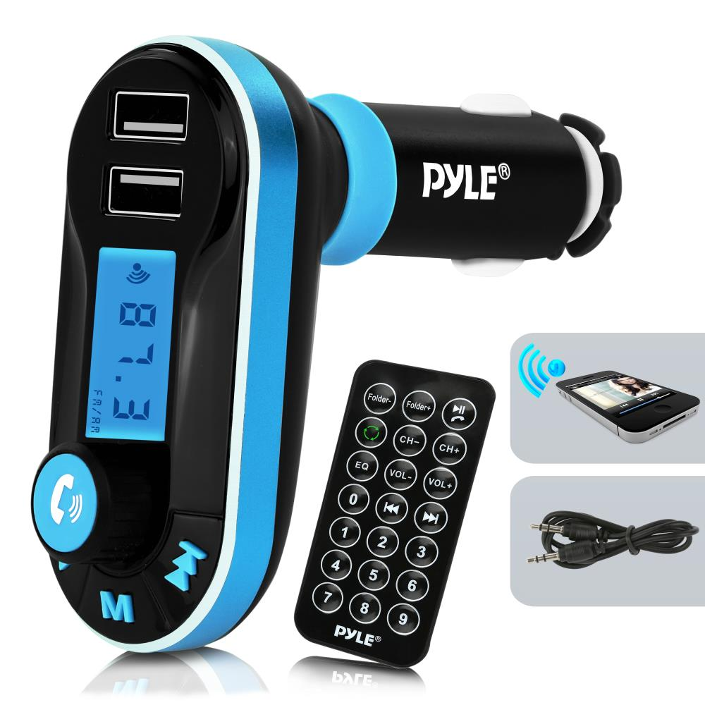 PYLE PBT92  BLUETOOTH FM TRANSMITTER AND CAR CHARGER KIT