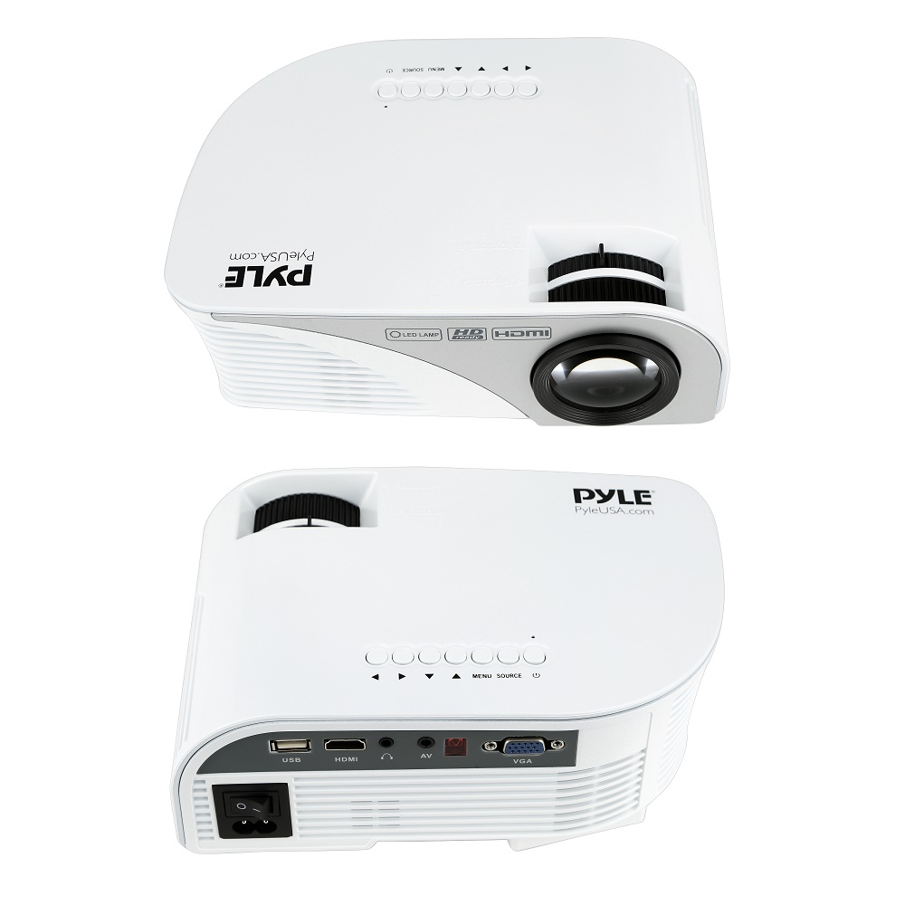 PYLE PRJG95 DIGITAL MULTIMEDIA PROJECTOR 1080p SUPPORT
