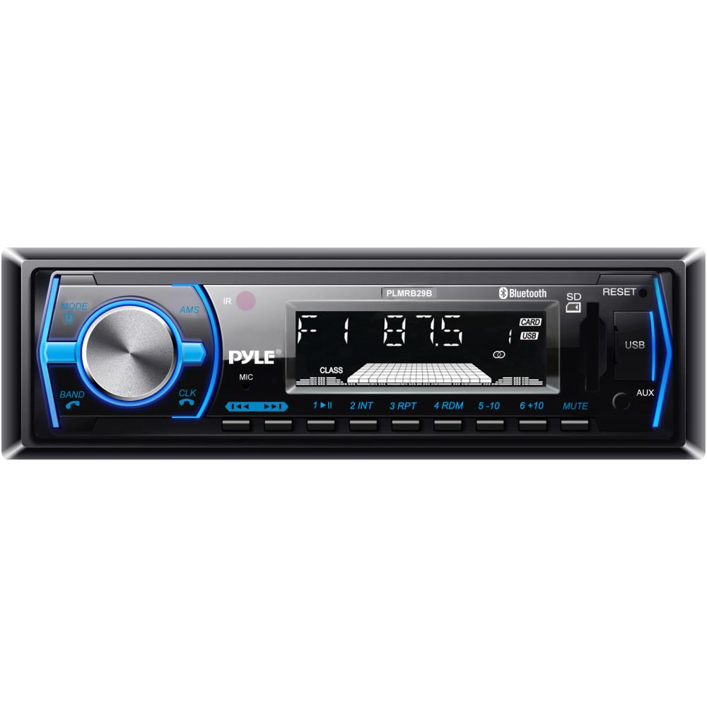 PYLE PLMRB29B IN DASH STEREO RECEIVER WITH BLUETOOTH MP3