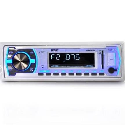 PYLE PLMRB29W IN DASH STEREO RADIO HEADUNIT RECEIVER WITH