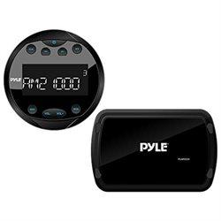 PYLE PLMR93W BLACK MARINE BLUETOOTH RADIO RECEIVER SYSTEM