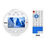 PYLE PLMR94W WHITE MARINE MEDIA DIGITAL RECEIVER WITH VIDEO