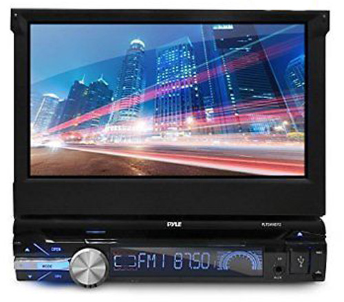 PYLE PLTDAND72 2 SINGLE DIN ANDROID STEREO WITH POP OUT