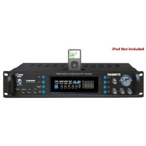Pyle Pro 2000W Receiver with Bluetooth & wireless remote