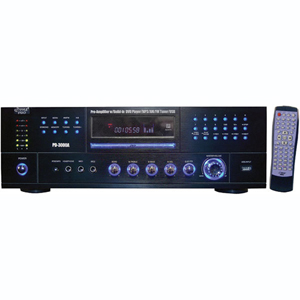 Pyle Amp W/ built in DVD player & AM/FM tuner 3000 watts