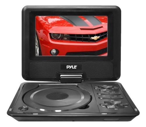 "Pyle 7"" Portable TFT/LCD Monitor with DVD"