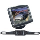 "Pyle  3.5"" Stand Monitor Rear View camera"