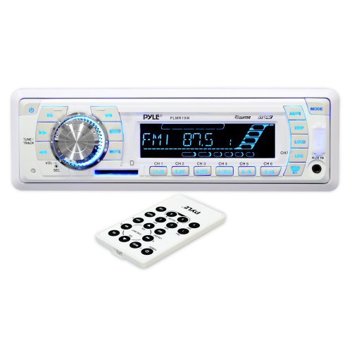MARINE RADIO PYLE AM/FM/W.BAND; REMOTE; CARDREADER + USB PORT
