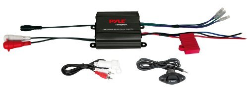 Pyle Marine 400W 2Ch Amplifier Black