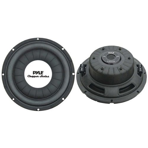 "SUBWOOFER 10"" SHALLOW MOUNT PYLE CHOPPER;1000 WATT; DVC"