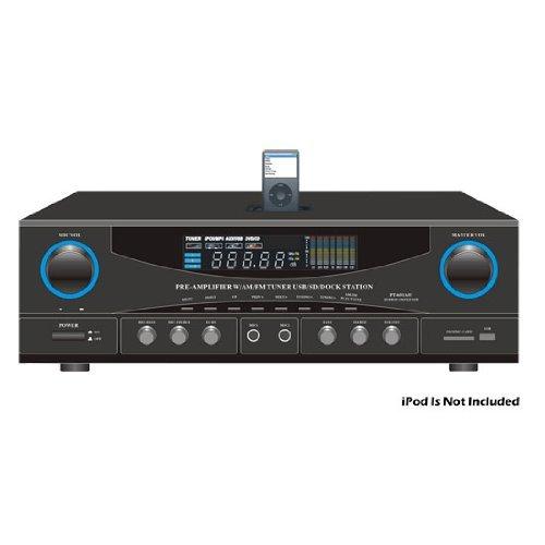 Pyle Stereo Receiver AM/FM Tuner 500W Peak