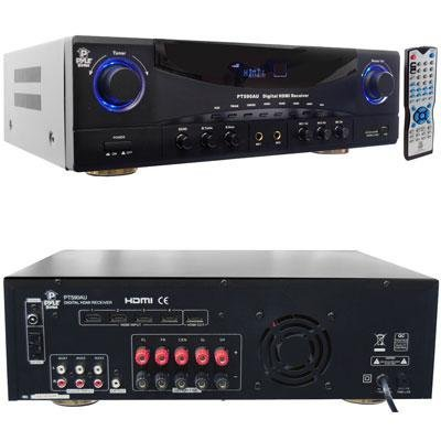 Pyle Amplifier HDMI Receiver 350W Max