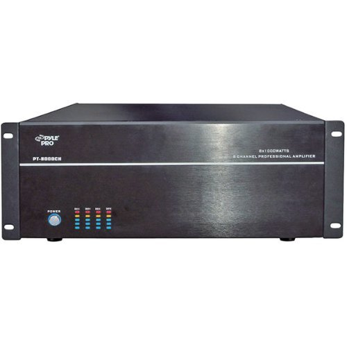 Pyle 8CH High Power Amplifier 1000w max X 8
