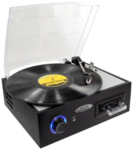 Pyle Multifunction Turntable with MP3 Recording