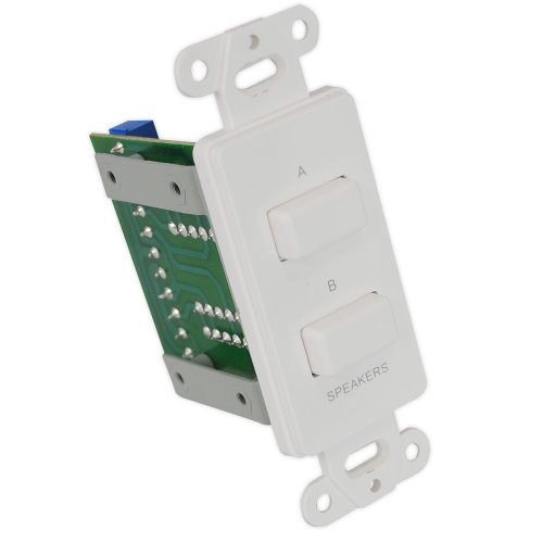 Pyle in wall a/b source selector switch