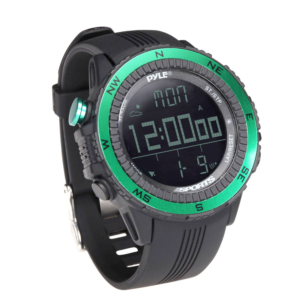 Pyle Multifunction Active Sports Watch-Green