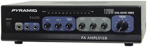 Pyramid Car Audio PA205 Amp with Microphone Input (120 Watt)