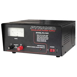 Pyramid Car Audio PS21KX 18-Amp Power Supply with Built-in Cooling Fan