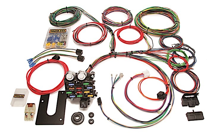 10101 Classic Customizable Chassis Harness - GM Keyed Column - 21 Circuits